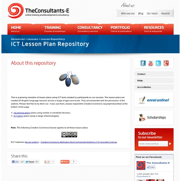 ICT Lesson Repository