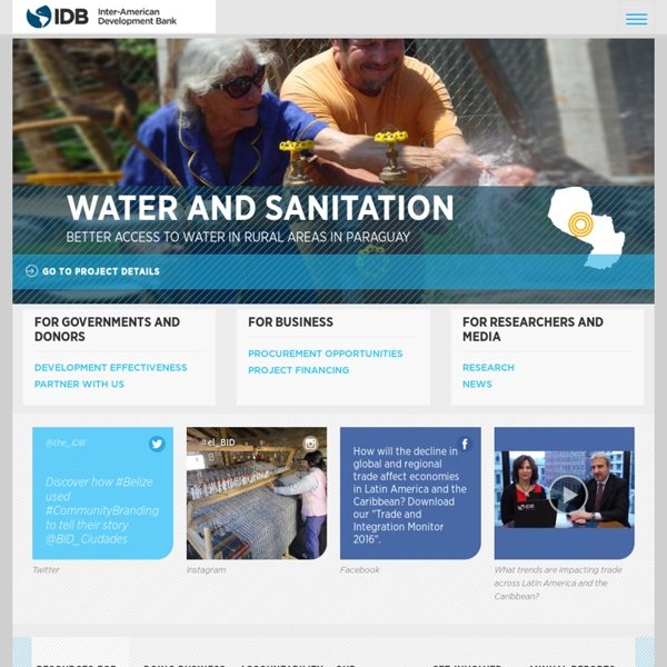 Inter-American Development Bank, IDB