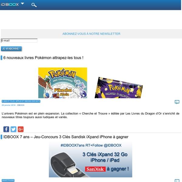 IDBOOX tout savoir sur les eBooks et les tablettes