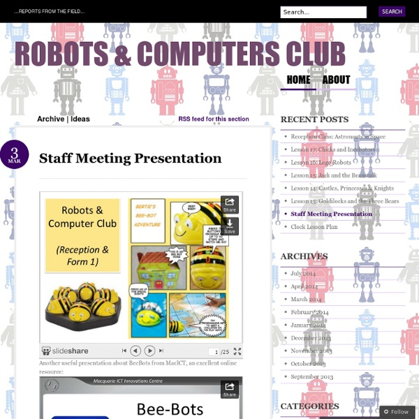 Robots & Computers Club