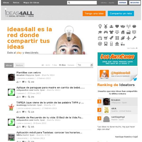 Ideas4all. Building The Global Brain.