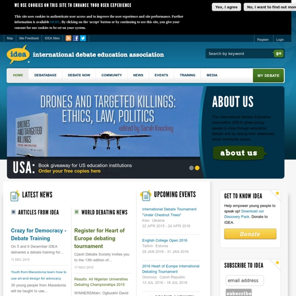 Idebate.org