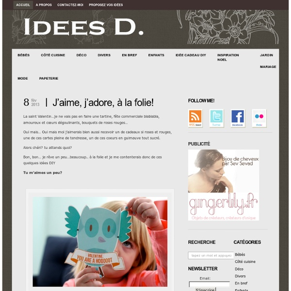 Idées DIY : le blog du DIY Do It Yourself