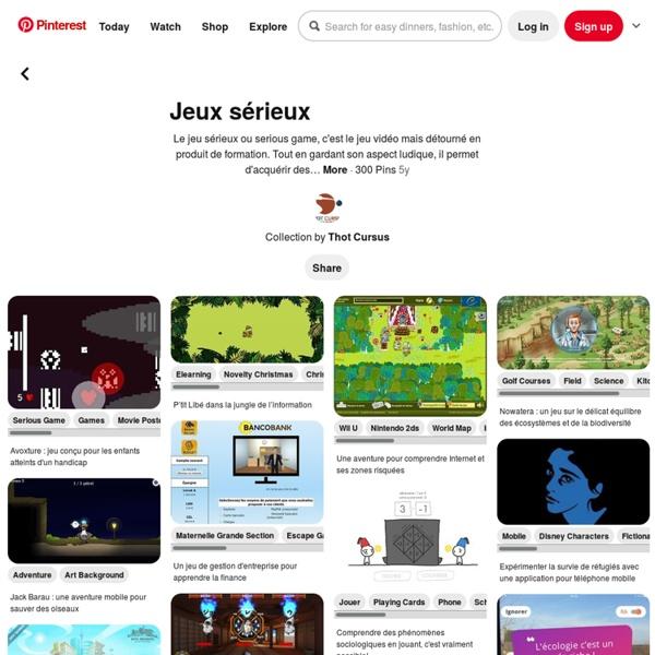 300 best Jeux sérieux images on Pinterest