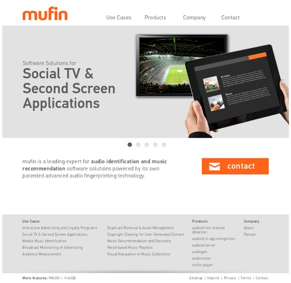 Mufin: Simply Discover Music With Your Music Discovery Engine