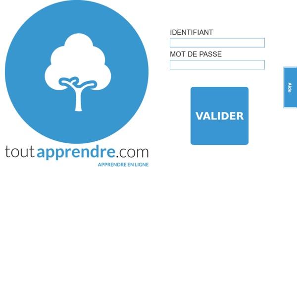 Portail ToutApprendre.com