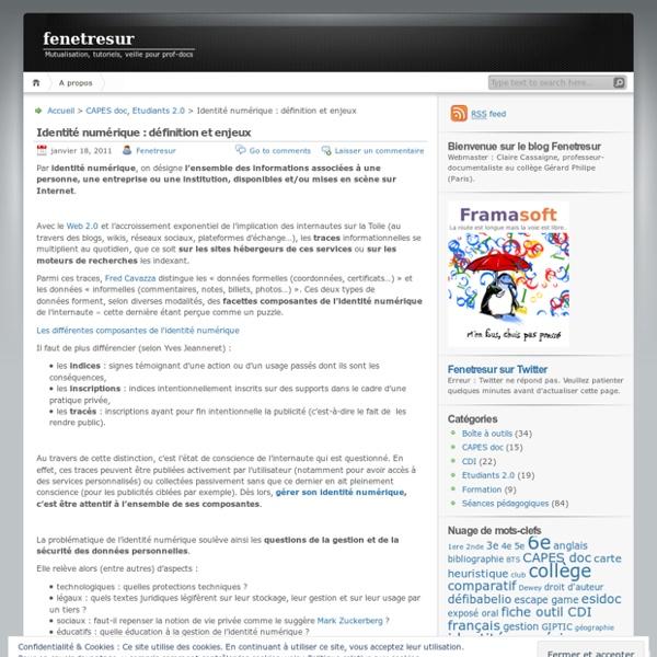 Identité numérique : définition et enjeux