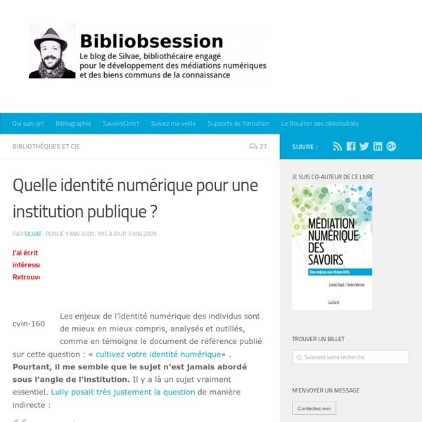 Quelle identité numérique pour une institution publique