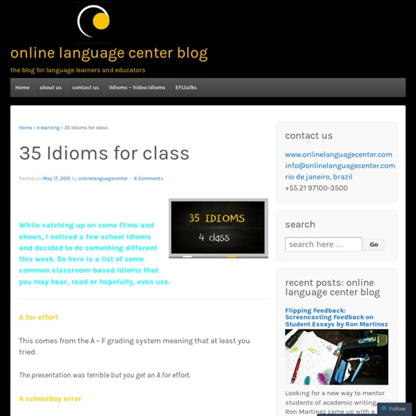 Onlinelanguagecenterblog