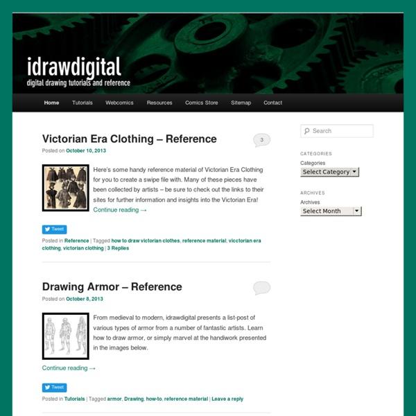 Idrawdigital - Tutorials for Drawing Digital Comics