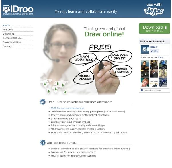 IDroo Whiteboard for Skype