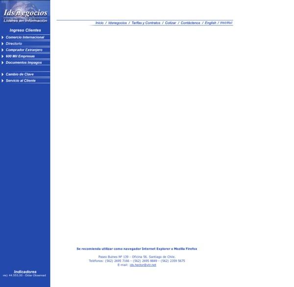 Idsnegocios - Lideres en Información