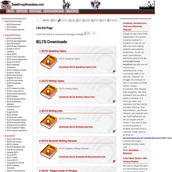 IELTS Downloads