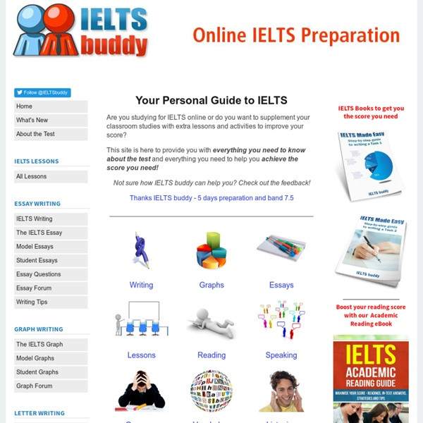 IELTSbuddy - Free exam preparation to improve your test score