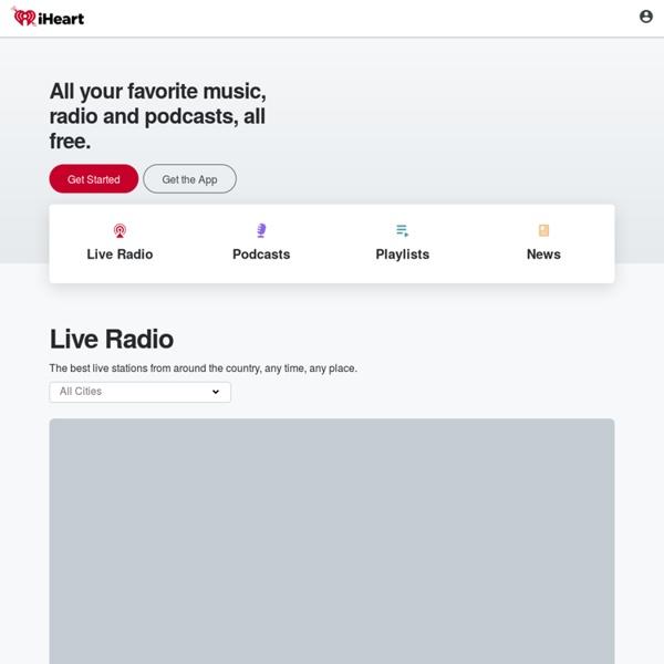 iHeartRadio - Free Online Radio - Listen to 750+ Live Radio Stations