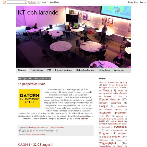 IKT och lärande