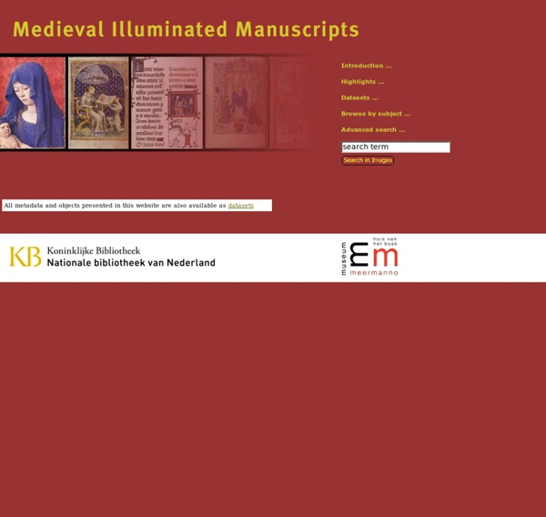 Medieval Illuminated Manuscripts