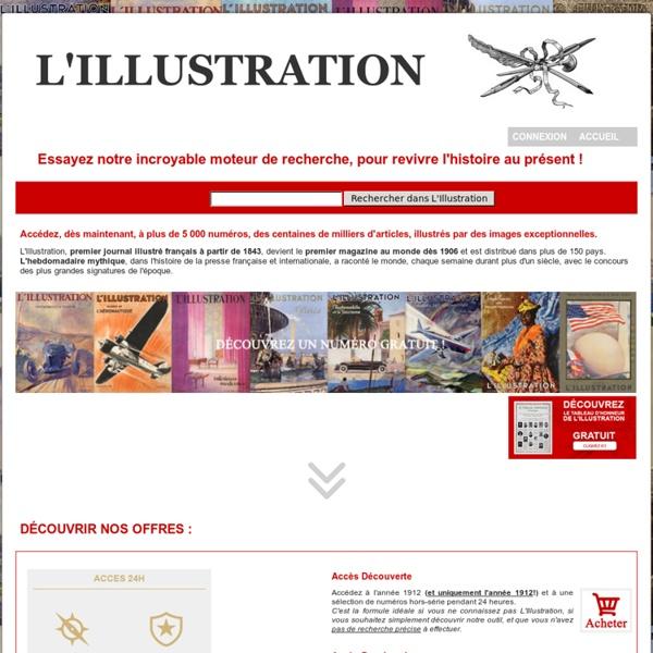 Bienvenue sur le site officiel du Journal L'Illustration, de son fonds documentaire et de ses archives historiques