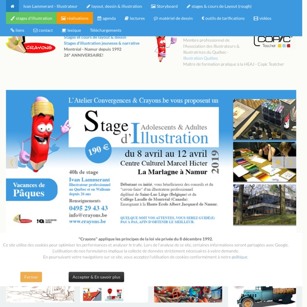 Références pour graphistes, infographistes (infographes), illustrateurs, webdesigners. couleur - layout - storyboard - infographie - bd - illustration narrative