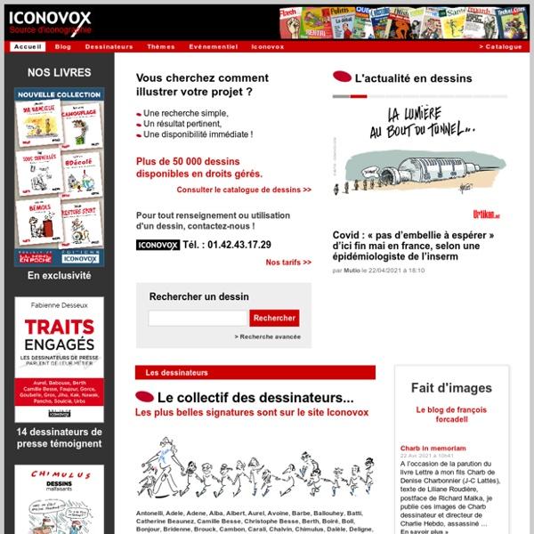 Dessins de presse - Illustrations : ICONOVOX - Source d'iconographie