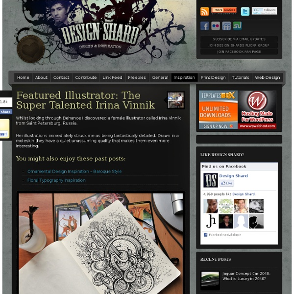 Featured Illustrator: The Super Talented Irina Vinnik