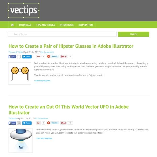 Vectips - Adobe Illustrator® Tutorials, tips, tricks, and resources
