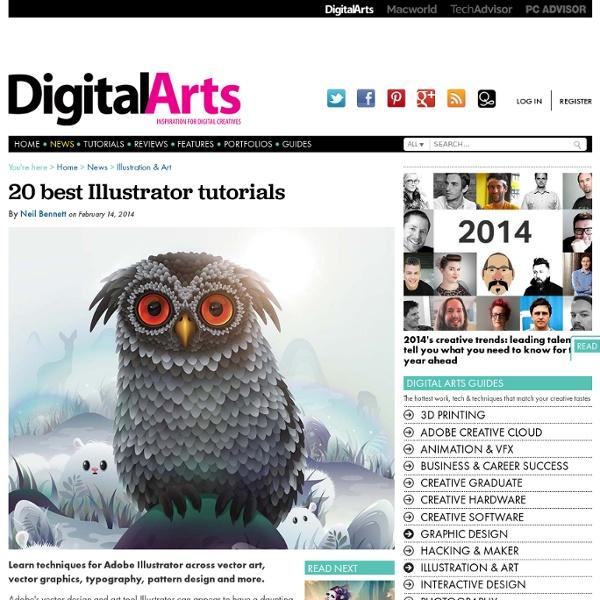 20 best Illustrator tutorials