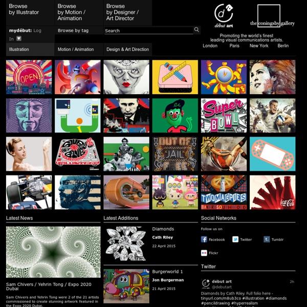 Début Art – Illustrators and Artist Agents, London