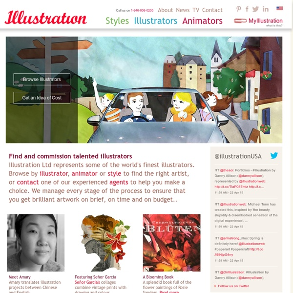 Illustrators, Illustrators' Agents, Illustration Agency, Art Rep, Artists' Representatives, London, New York, Shianghai, Paris, Hamburg, Singapore,- illustrationweb.com