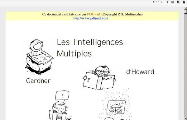 Les Intelligences Multiples en pratique