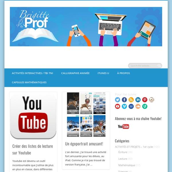 Brigitte Prof - Ressources pour les enseignants du primaire