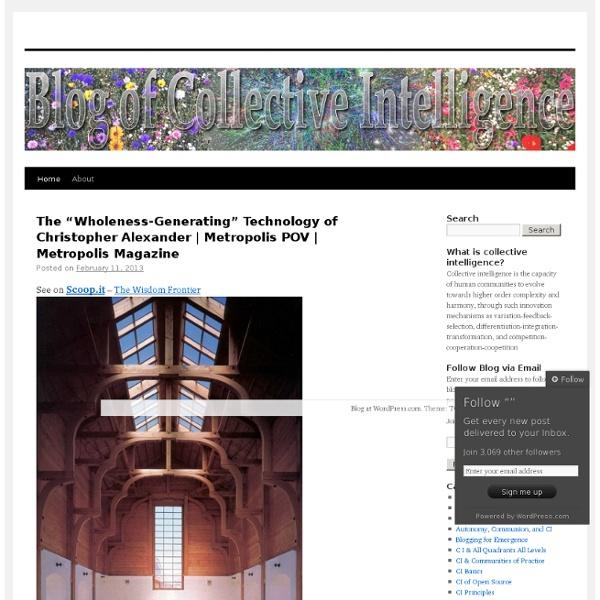 Blogofcollectiveintelligence