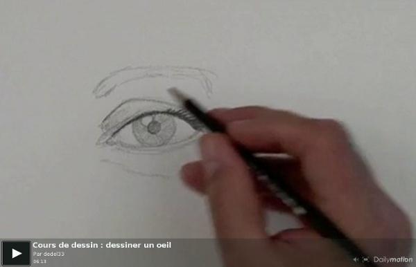 Dessiner un oeil_vidéo