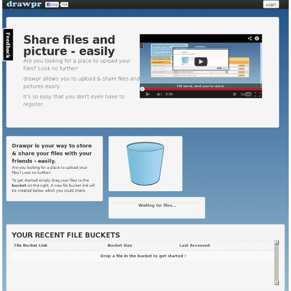 Drop, share, draw - the easy way to share files