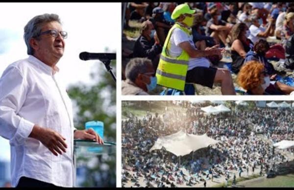 «Nous proposons des causes communes» - J.-L. Mélenchon à Valence le 23 août 2020