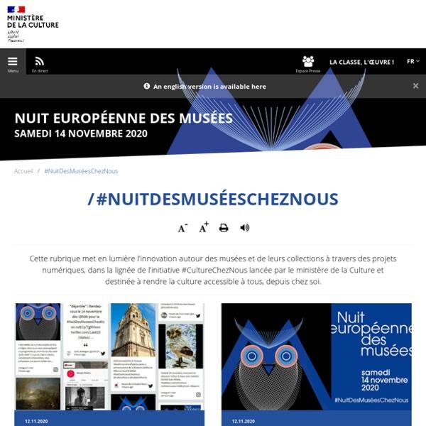 #NuitDesMuséesChezNous
