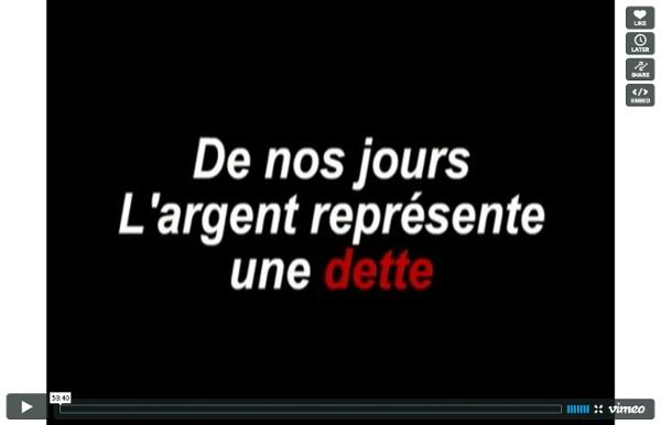 L'Argent Dette - La révision (2010 Paul Grignon FR intégral)