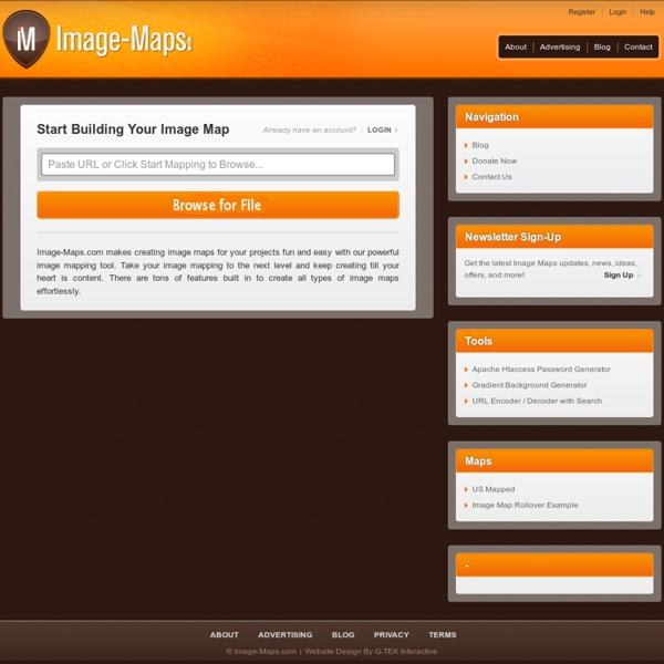 Image Map Tool - On-line Image Map Creator - HTML & CSS