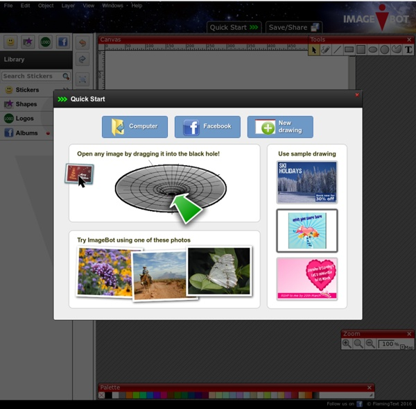 ImageBot - Free Online Photo and Image Editor