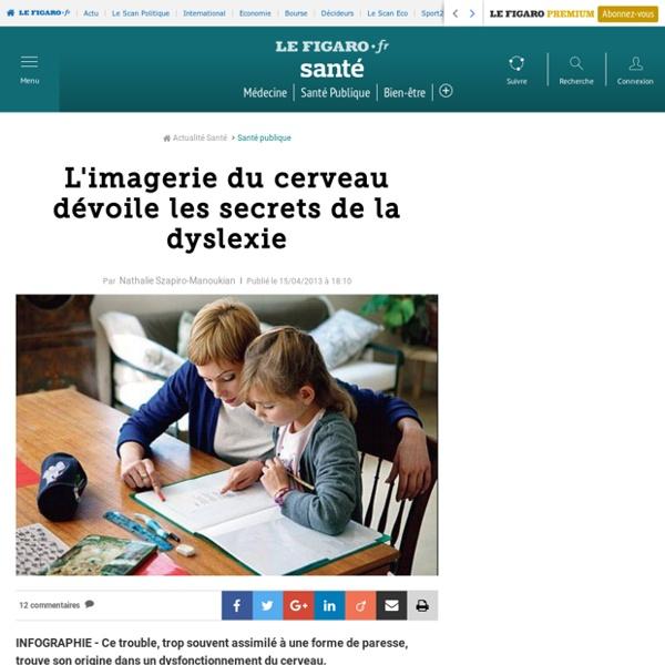 Imagerie du cerveau et dyslexie - Lefigaro.fr