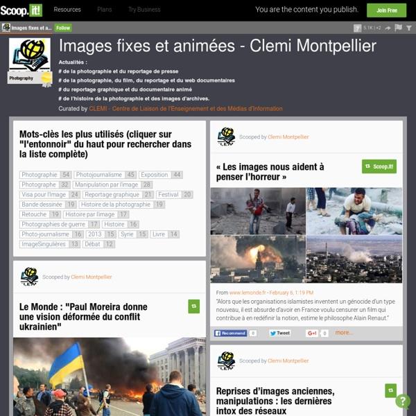 Images fixes et animées - Clemi Montpellier