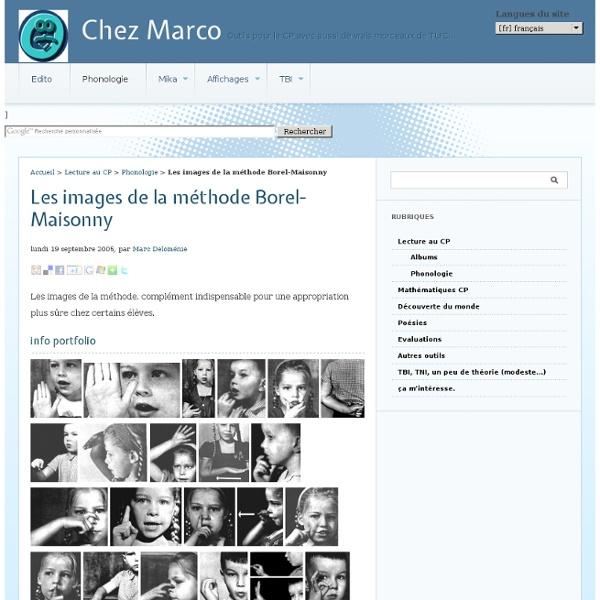 Les images de la méthode Borel-Maisonny