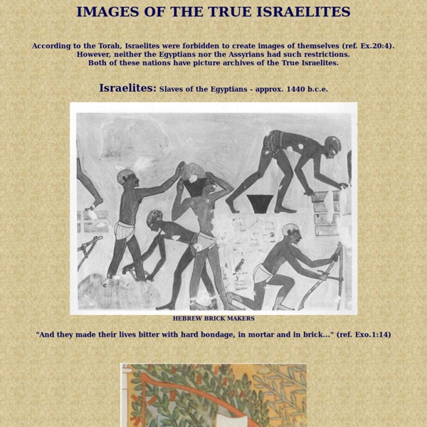 Images of the True Israelites