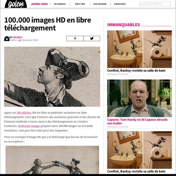 100.000 images HD en libre téléchargement