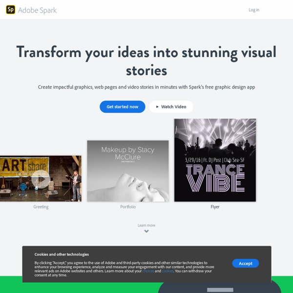 Make a beautiful visual story. In minutes.