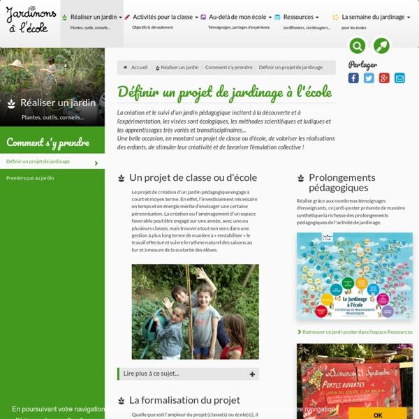 Découvrez le jardin imaginaire des enfants, le jardin scolaire, le jardinage en classe, le jardinage à l'école sans frontières et partagez vos expériences