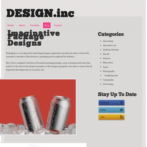 Imaginative Package Designs - Design