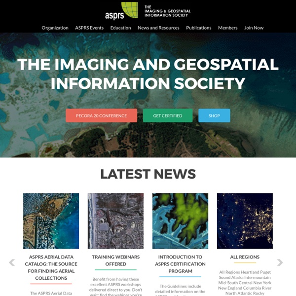 ASPRS American Society for Photogrammetry and Remote Sensing
