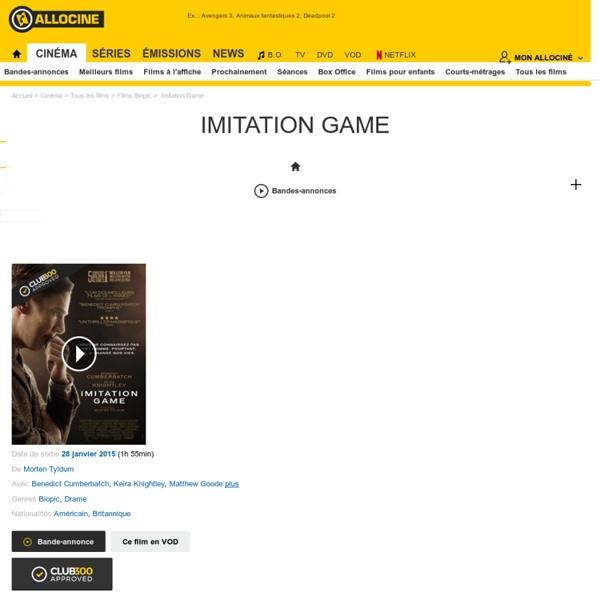 Imitation Game - film 2014