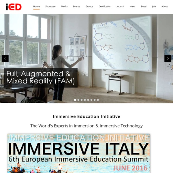 Immersive Education Initiative